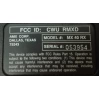 AMX MX 40 RX Projector Slide Remote