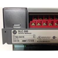Allen Bradley SLC 500 Output Module 1746-OA16