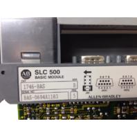 Allen Bradley SLC 500 1746-BAS Basic Module