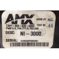 AMX NetLinx Integrated Controller NI-3000 Rack Mountable