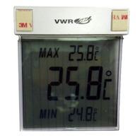 Lot of 8 Digital LCD Thermometer 36934-158 VWR VIR/EPR 215, 220, 221, 222, 224, 228, 229, 230