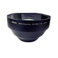 Nikon WC-E80 Wide Angle Converter Lens for Select Coolpix Cameras
