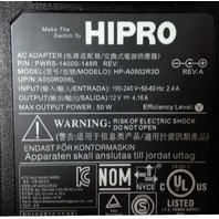 HIPRO AC Adapter HPA0502R3D PWRS-14000148R 12 V = 4.16 A