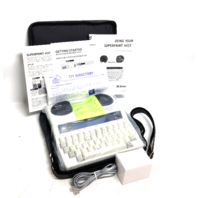Ultratec 4425 Superprint Text Telephone TTY Announcer for Hearing Impaired Deaf