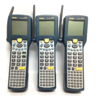 Lot of 3 Intermec Trakker 2425 Barcode Scanner