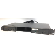Lot Of 2 Videotek VDA-16WB Video Distribution Amplifier With Rackmount Frame