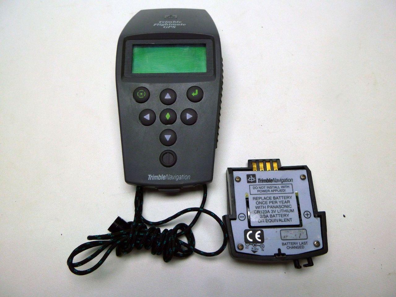 Flightmate Pro GPS 17319 Trimble Navigation with Accessories & soft case.