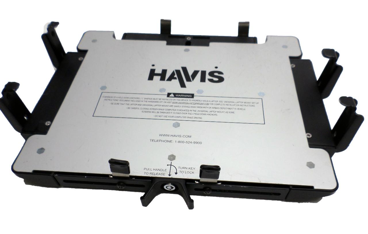 NEW Havis UT-X Universal Laptop Mount Keys//Hardware