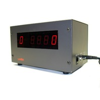 Lanier RD-5 Digital Counter Display 2- Sided W/ Power Supply & LCR Line Cord