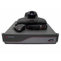 Polycom VS 4000 System View Station FX Camera Mic Pod Remote Control & ADP-62AB
