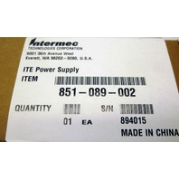INTERMEC 851-089-002 INTERMEC REPLACES 851-089-001 UNIVERSAL POWER SUPPLY 5