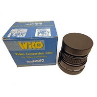 WIKO Video TELE CONVERSION LENS 2.0X Made in Japan 46mm Threads RC-4940