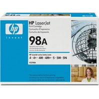 Genuine New Sealed HP 98A (92298A) Black Toner Cartridge