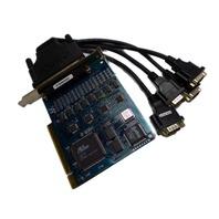 MOXA MULTI I/O Cable  PCB104\PCI VER: 1.3 Card