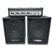 Gem Sound Combo 70 Mixer / Amplifier with Speakers 4 channel