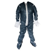 Dupont Tyvek  Gray 3X Vented Coverall  Disposable Coverall PPE