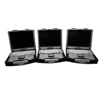3 Panasonic CF-29 Toughbooks Touch Screen 1.3 GHz  256 MB Ram Parts Machines
