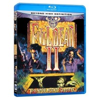 NEW EVIL DEAD II 2 Blu-Ray UNRATED Film by Sam Raimi Widescreen HIGH Definition