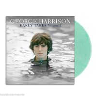NEW George Harrison Early Takes Volume 1 Unsealed Coke Bottle Clear Vinyl LP