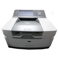 USED HP 9250C Digital Color Document Sender CB472A W/ Keyboard Scanner Adf Formatter Hard Board Drive 256mb Network
