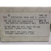 MSA Diffusion Head Assembly 449917