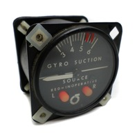 Parker Aviation Gyro Suction # 1G2-1