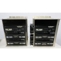 CSR Contraves NC400 DC Servo Controllers,  PS 400 DC Power Supply & Racks