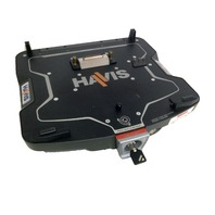 Used Ledco / Havis Dell Docking Station with key & mount E6400 ATG / E6400XFR