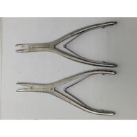 2  Surgical Pliers Dental  Codman Lawton