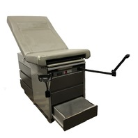 Midmark Ritter 104 Medical Patient  Exam Table  OBGYN Stirrups 100-023 Heated Tray