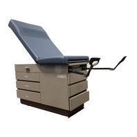 Midmark Ritter 104 Exam Table with Stirrups Blue  104-035-202-1
