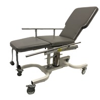 Biodex Deluxe Ultrasound Mobile Table 056-605 Height Adjustable