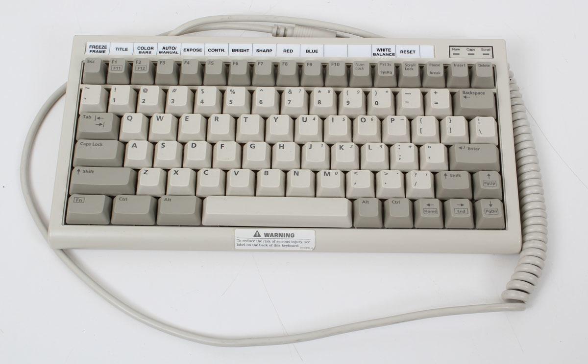 BTC 5100C Mini Magic Wired Keyboard  AT/XT BTC-5100C