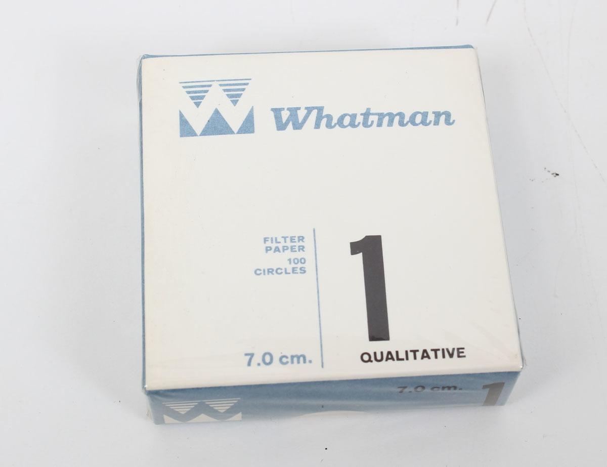 Whatman Grade 1 Qualitative Filter Paper 7.0cm 100 Filters 1001-70