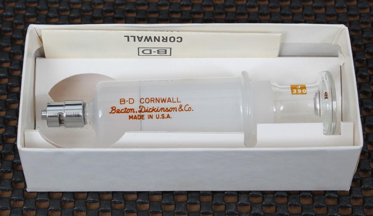 BD Cornwall Luer Lok 10cc Control Syringe 2193
