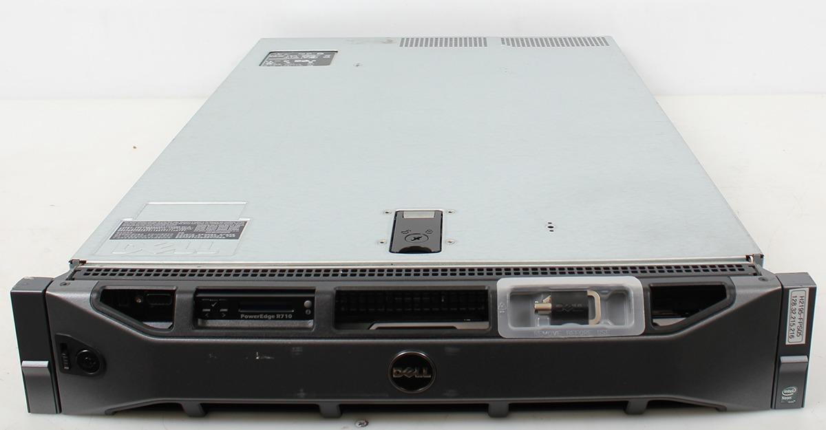 Dell PowerEdge R710 Enterprise Server 2x E5520 2 27GHz 4-Core 16GB 6-Bay