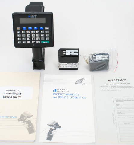 HHP LaserWand Portable Data Collection Computer Barcode Scanner Laser-Wand ALR