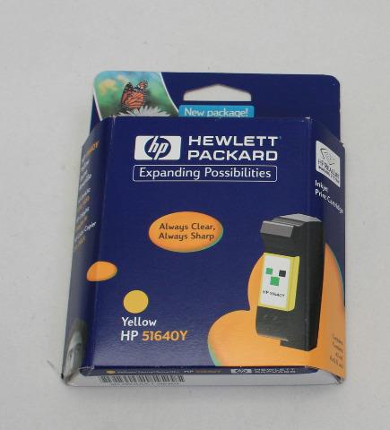 NEW Genuine OEM HP 40 Yellow Inkjet Print Cartridge 51640Y