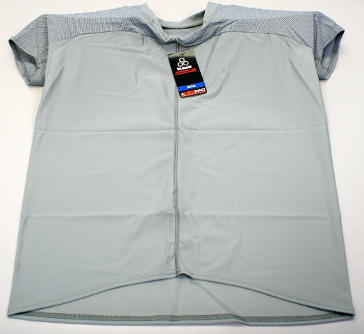McDavid 7864T HexPad Padded Compression Shirt Mesh Grey XX-Large 2XL