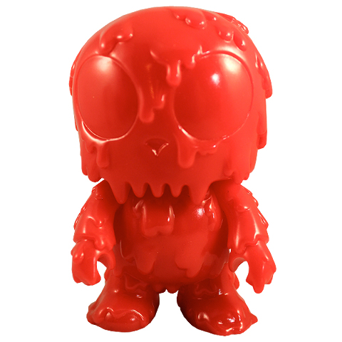 """Melting Toyer Toy2R DIY 5"""" Mini Qee -Red Edition-"""