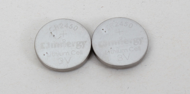 -NEW-  CR2450 3V Omnergy Lithium Coin Cell Battery 2-Pack