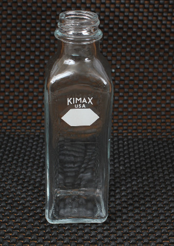 Lot of 5 Kimax 160mL Graduated Narrow Mouth Milk Dilution Bottle 14925