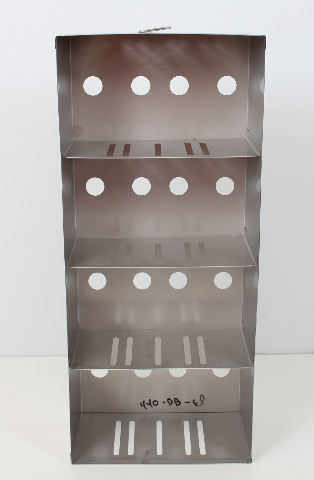 New! Fisher Scientific Cryogenic Adjustable Side Access Cryo Rack 6113-1