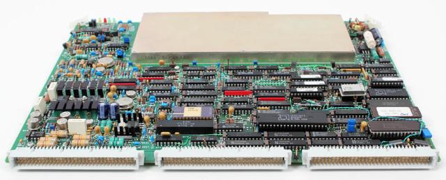 ATL Pulse Processor Board Assy 7500-0370 for Ultramark 4 Plus Ultrasound