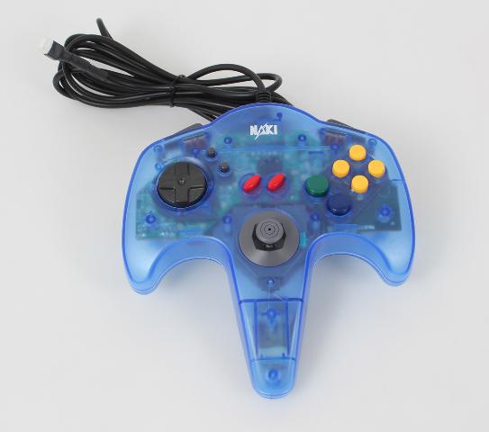 Modified Plug for Arduino/ Robotics. Naki Nintendo 64 N64 Controller