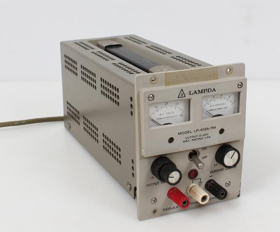 Lambda Regulated DC Power Supply 0-40V 0-1.0A  LP-412A-FM