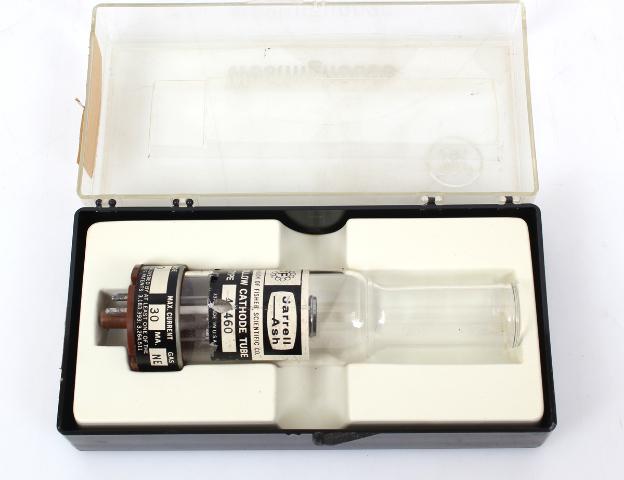 Fisher Scientific Jarrell Ash  Hollow Cathode Tube Lamp Molybdenum/ Neon 46460