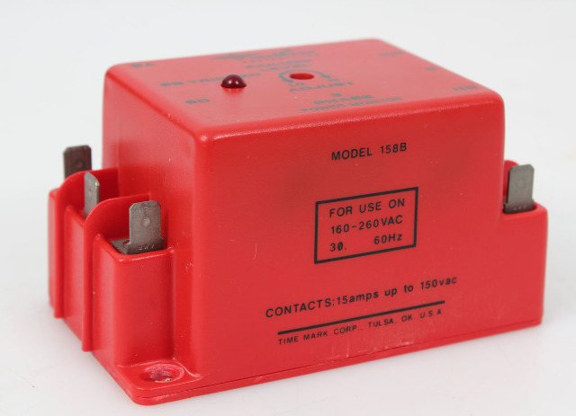 Time Mark 158B 3-Phase Power Monitor 160-260VAC 60Hz