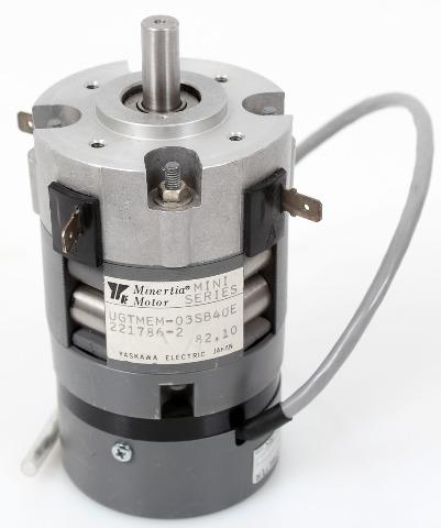 Yaskawa ABB Mini-Series DC Minertia Servo Motor UGTMEM-03SB40E + Optical Encoder