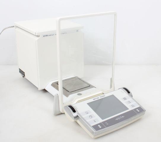 Mettler Toledo AX105DR Delta Range Analytical Balance 31/110g  0.00001/0.0001g